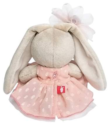 Мягкие игрушки животные Budi Basa Зайка Ми в персиковом платье 15 см SidX-262