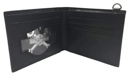 Портмоне Harley-Davidson Crossfire Bifold черное
