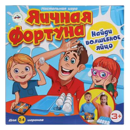 Семейная настольная игра Играем вместе Яичная фортуна B1640403-R
