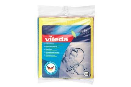 Салфетка для уборки Vileda Губчатая 18x20 см 3 шт