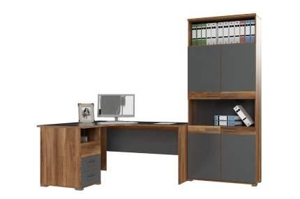 Письменный стол Hoff 80325362, коричневый