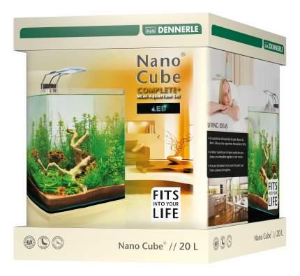 Нано-аквариум для рыб, креветок, ракообразных Dennerle NanoCube Complete Plus LED, 20 л
