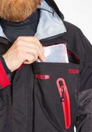 Костюм для рыбалки Norfin Pro Dry 2, серый/красный, S INT, 168-174 см