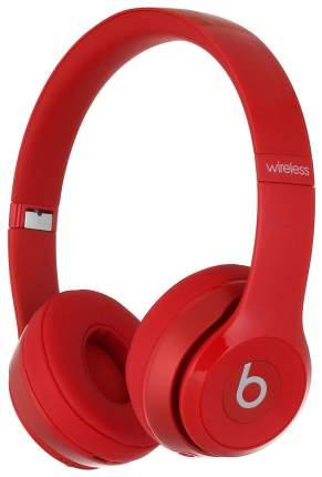 Беспроводные наушники Beats Solo 2 Wireless Red