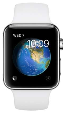 Смарт-часы Apple Watch Series 2 42mm 42mm Stainless Steel/White (MNPR2RU/A)