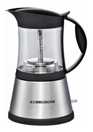 Гейзерная кофеварка Rommelsbacher EKO 376/G Silver