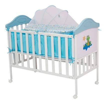 Кроватка BabyHit Sleepy Compact-blue 120x60