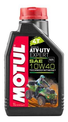 Моторное масло Motul ATV-UTV Expert 10W-40 1л