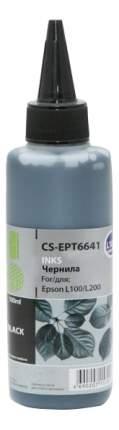 Чернила для струйного принтера Cactus CS-EPT6641 черный