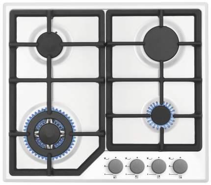 Встраиваемая варочная панель газовая Simfer H60M41W412 White