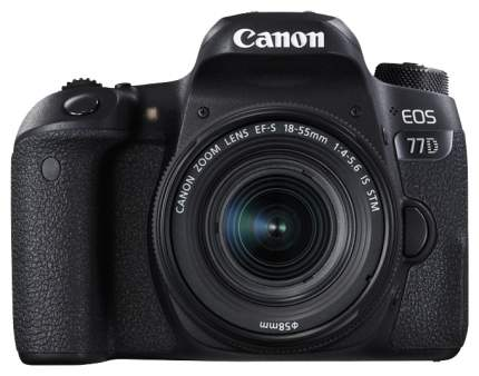 Зеркальный фотоаппарат Canon EOS 77D Black