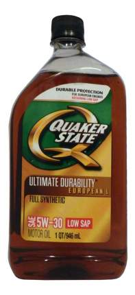 Моторное масло Quaker state Ultimate Durability European L 5W-30 0,946л