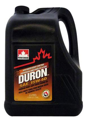 Моторное масло Petro-canada Duron 15W-40 4л
