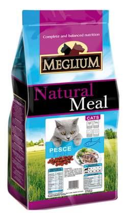 Сухой корм для кошек Meglium Adult, рыба, 3кг