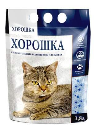 Наполнитель для туалета ХОРОШКА силикагелевый 3.8 л 1.5 кг