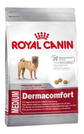 Сухой корм для собак ROYAL CANIN Dermacomfort Medium Adult, мясо, 3кг
