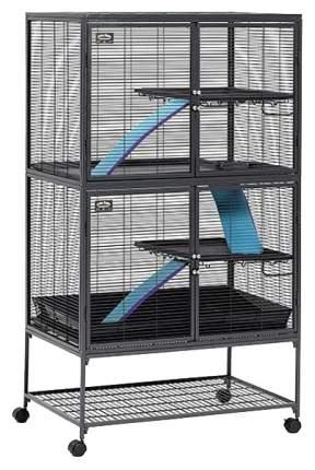Клетка для крыс, хорьков, дегу, шиншилл Midwest 160х61х92см на колесах