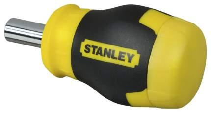 Наборная отвертка с насадками Stanley Multibit Stubby 0-66-357. 6 вставок