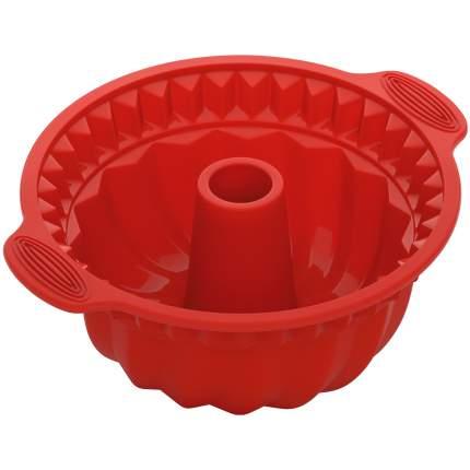 Форма для кекса NADOBA MILA 28х24х10см красный (762021)