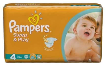 Подгузники Pampers Sleep & Play Maxi 4 (7-14 кг), 86 шт.