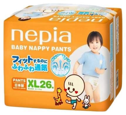 Подгузники-трусики Nepia Baby Nappy XL (12-17 кг), 26 шт.