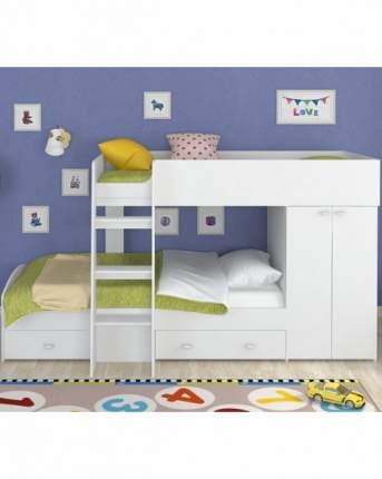 Двухъярусная кровать Golden Kids 2 белая