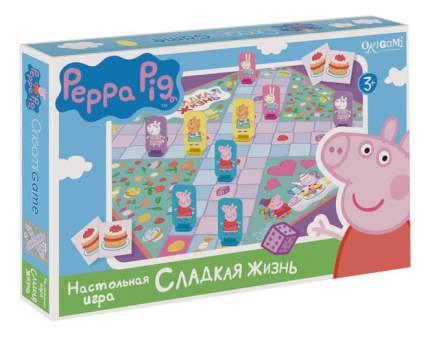 Семейная настольная игра Origami Peppa Pig Сладкая жизнь