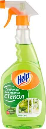 Средство для мытья стекол Help яблоко 750 мл