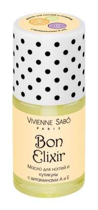 Масло для ногтей и кутикулы Vivienne Sabo Bon Elixir с экстрактом зеленого чая 15 мл