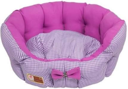 Лежанка для кошек и собак ЗООГУРМАН 45x45x15см розовый