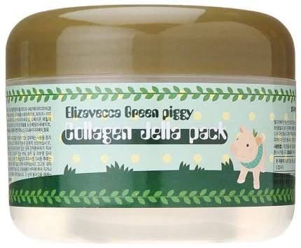 Маска для лица Elizavecca Green Piggy Collagen Jella Pack 100 мл