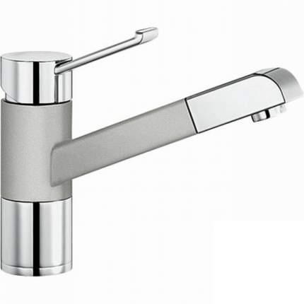 Смеситель для кухонной мойки Blanco ZENOS-S 517821 серый шелк