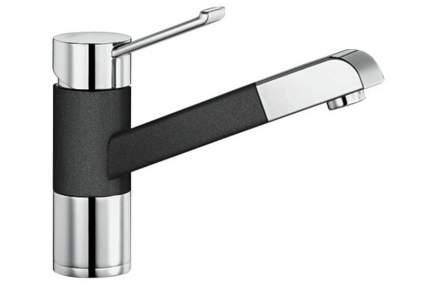 Смеситель для кухонной мойки Blanco ZENOS-S 517829 черный хром