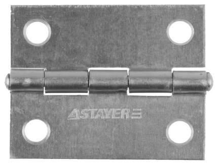 """Петля дверная Stayer """"MASTER"""" универсальная, цвет белый цинк, 50мм"""