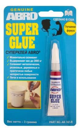 Суперклей ABRO, 3 г