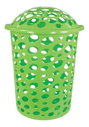 Корзина для белья Альтернатива Соренто 45 л зеленый