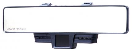 Салонное зеркало заднего вида с регистратором VIZANT Радар детектор, GPS 750GST