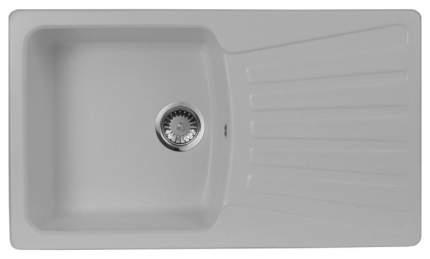 Мойка для кухни гранитная AquaGranitEx m-12 серый