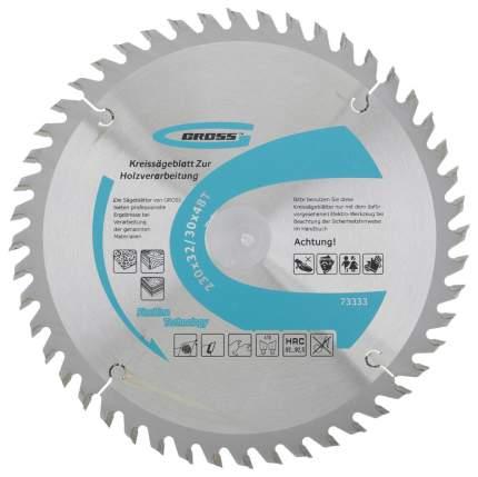 Пильный диск GROSS 73333