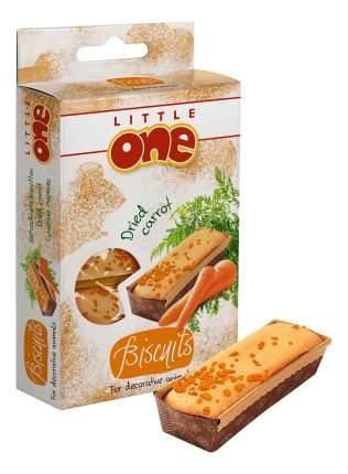 Лакомство для грызунов Little One бисквит, морковь, 35 г