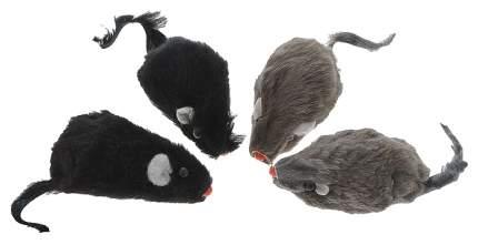 Мягкая игрушка для кошек Triol Мех, 5 см 4 шт