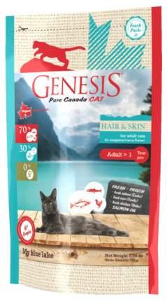 Сухой корм для кошек Genesis Pure Canada My Blue Lake Hair&Skin, рыба, 0,34кг