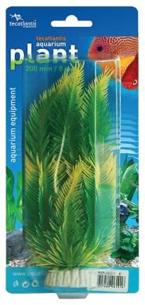 Искусственное растение Tecatlantis ветка 20см 6101 зеленый, желтый