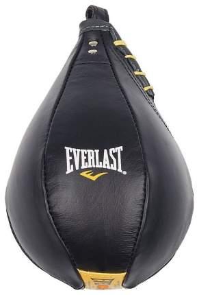 Боксерская груша Everlast Cow Leather черно-желтая