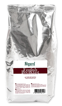 Чай черный Sigurd english breakfast английский завтрак 200 г
