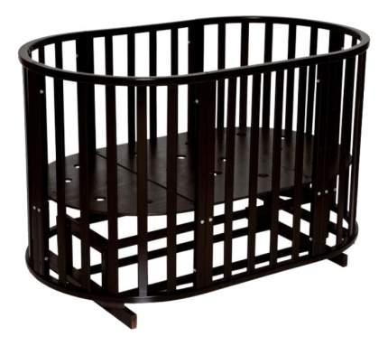 Кровать Антел Северянка-3 шоколад