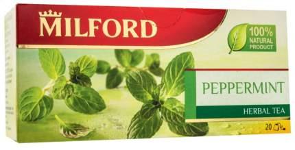Чай травяной Milford peppermint 20 пакетиков