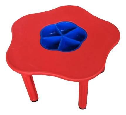 Стол детский KingKids Сэнди с системой хранения мелочей красный