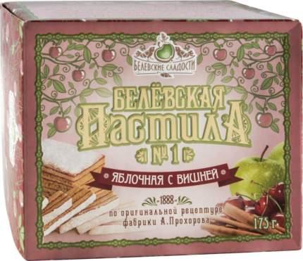 Пастила белевская Белевские сладости яблочная с вишней 175 г