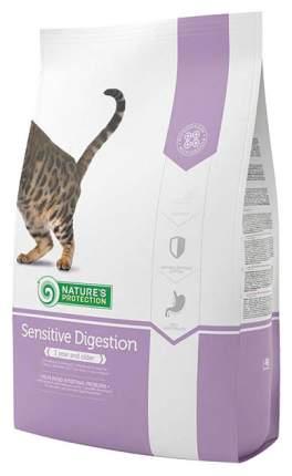 Сухой корм для кошек Nature's Protection SENSITIVE, индейка, 2кг